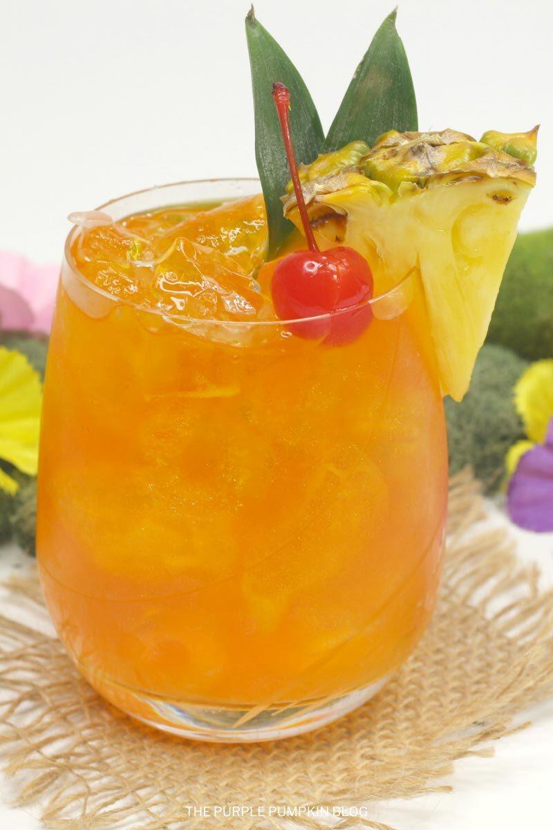 Fruity Island Breeze Cocktail