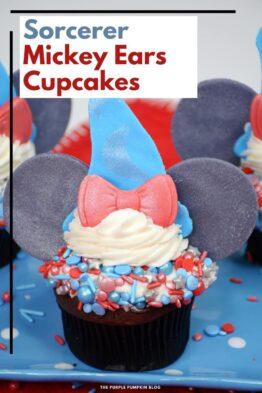 Sorcerer-Mickey-Ears-Cupcakes