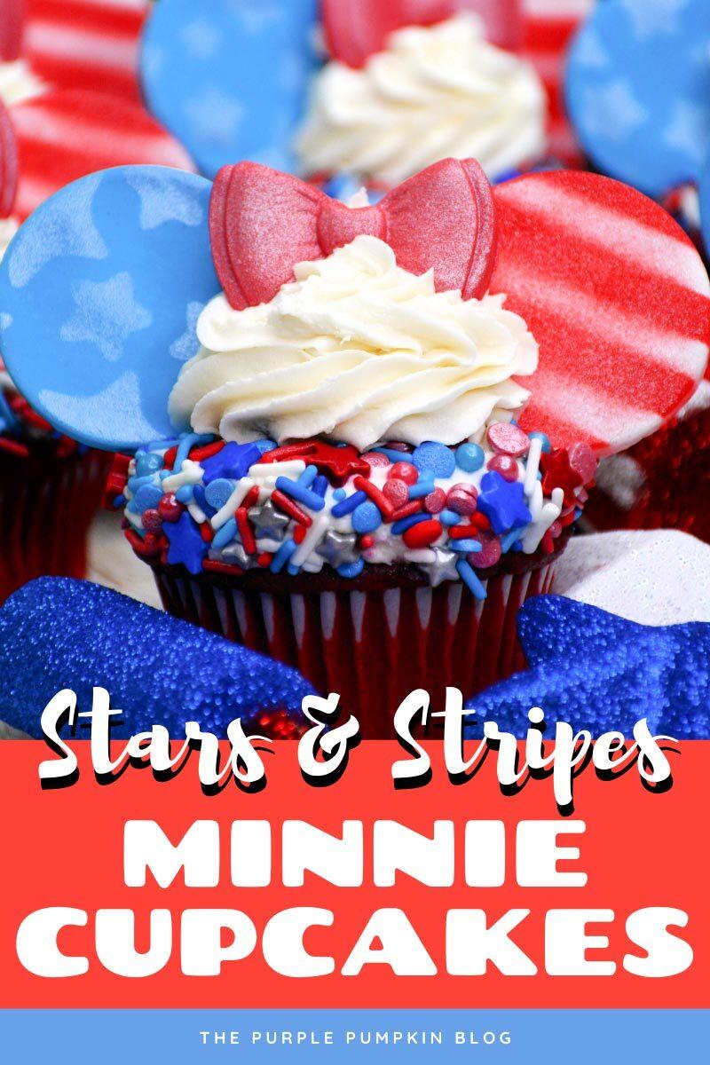 Stars & Stripes Minnie Cupcakes