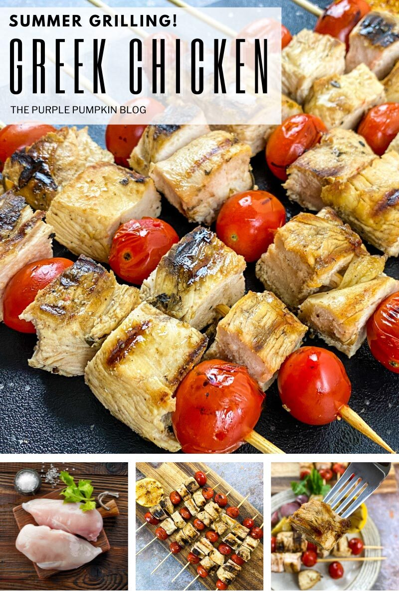 Summer Grilling - Greek Chicken
