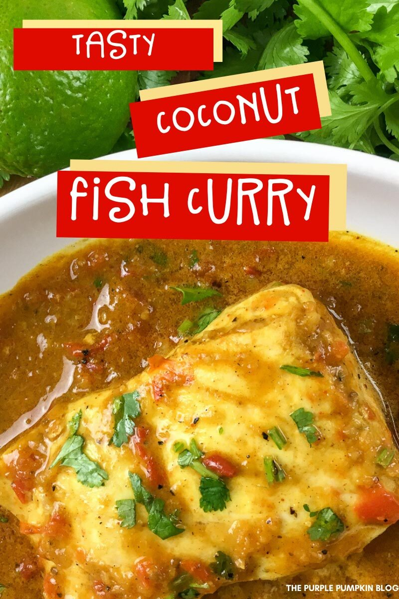 Tasty Coconut Fish Curry