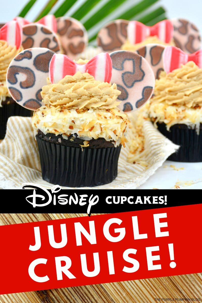 Disney Cupcakes! Jungle Cruise!