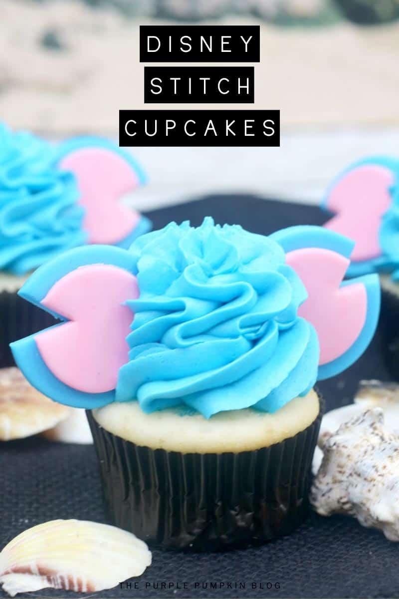 Disney-Stitch-Cupcakes
