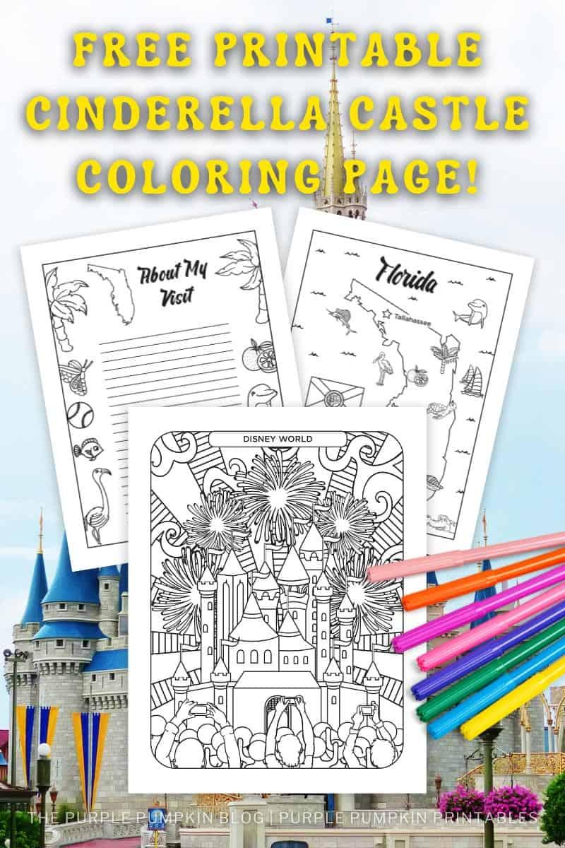 Free-Printable-Cinderella-Castle-Coloring-Page