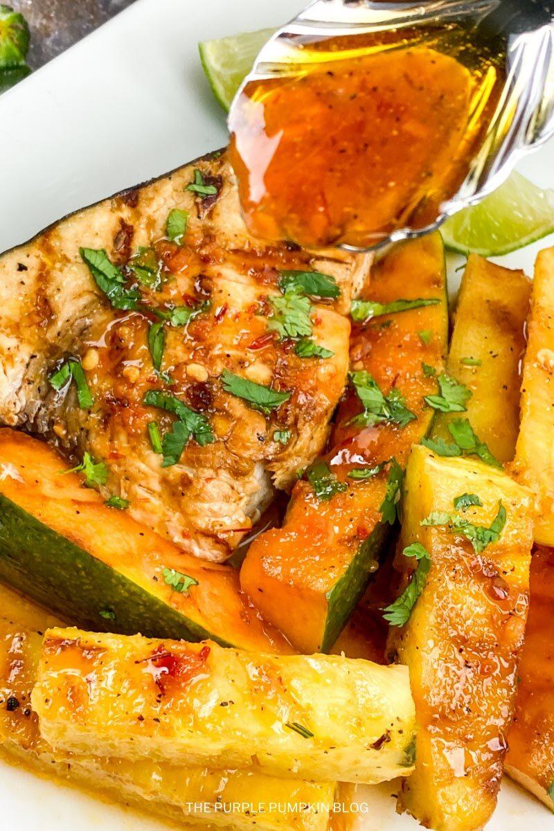 Garlic-Chili Swordfish Recipe