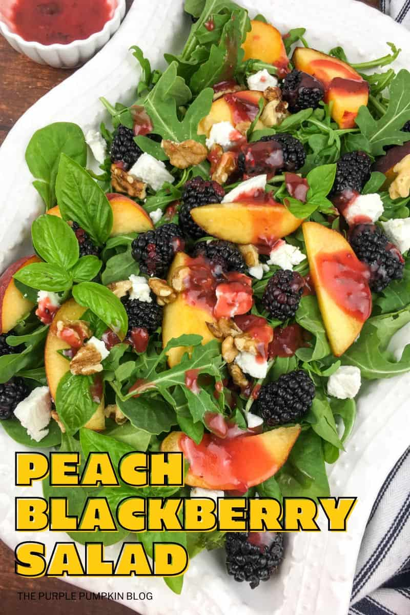 Peach-Blackberry-Salad
