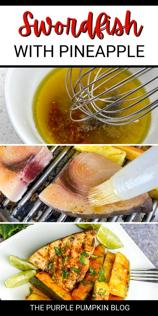 Swordfish with Pineapple