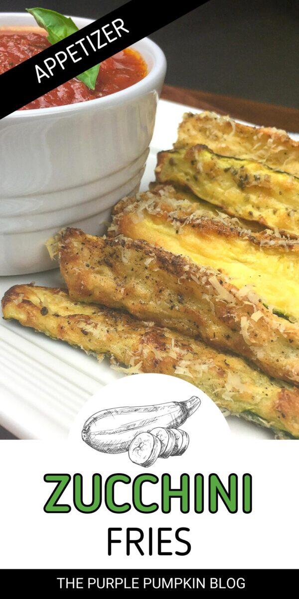 Zucchini Fries Appetizer