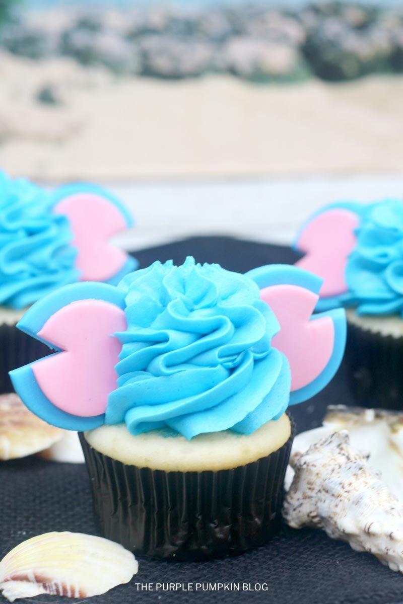 Adorable Disney's Stitch Cupcakes