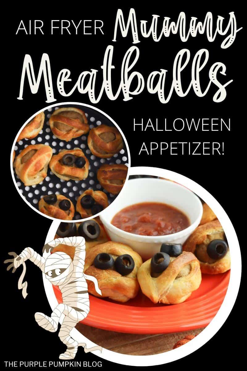 Air-Fryer-Mummy-Meatballs-Halloween-Appetizer