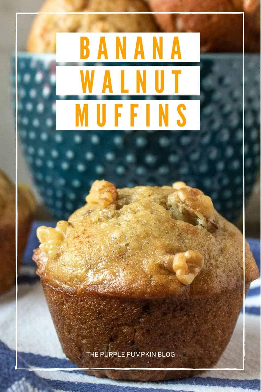 Banana-Walnut-Muffins