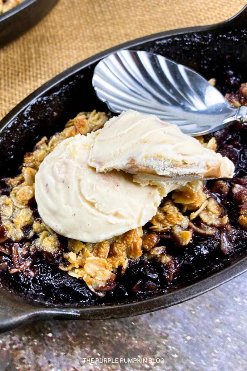 Black Cherry Crisp Recipe
