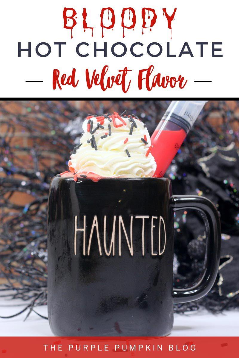 Bloody Hot Chocolate - Red Velvet Flavor