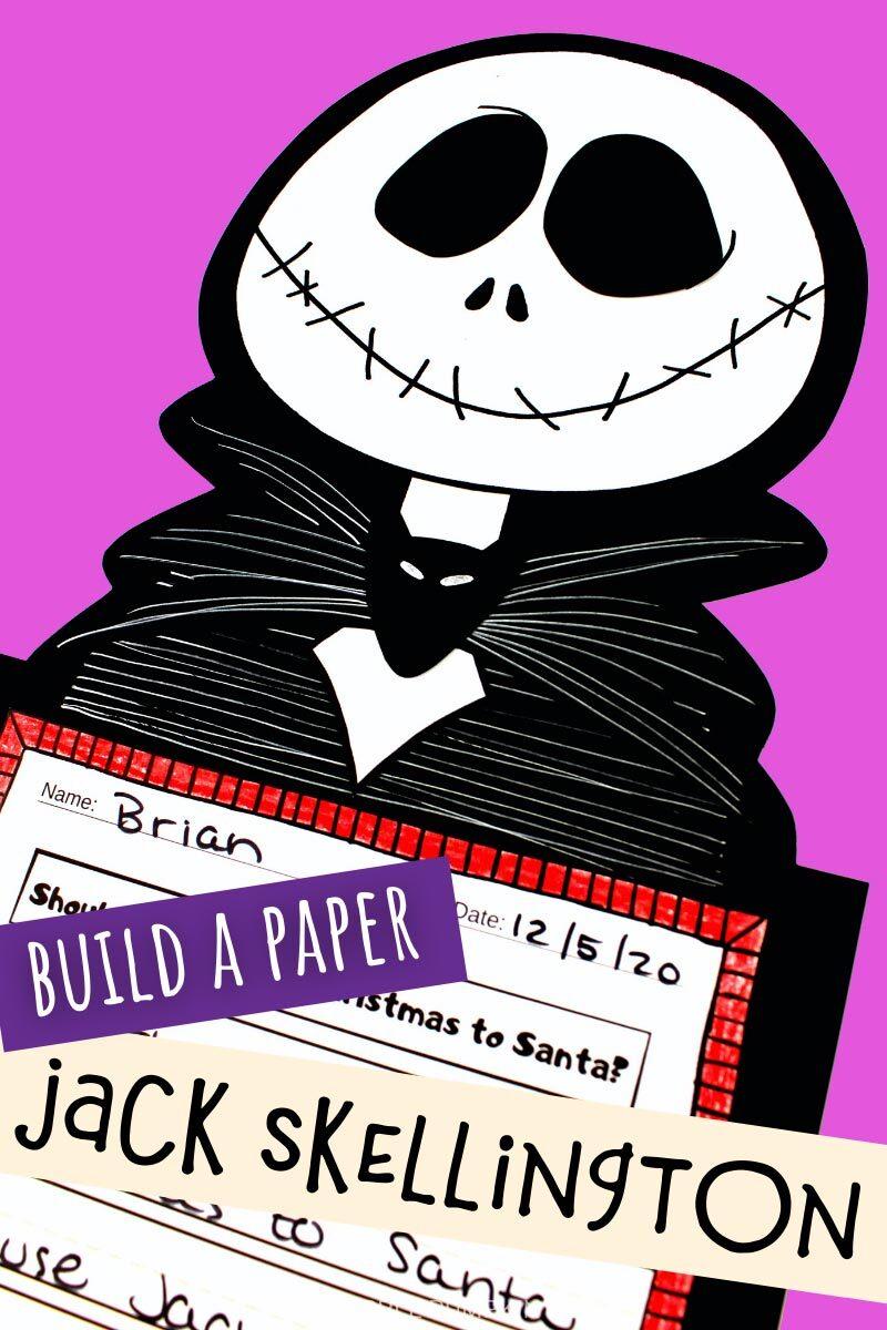 Build a Paper Jack Skellington