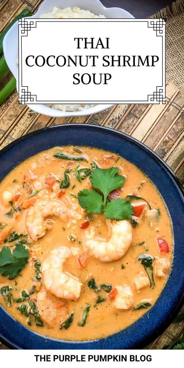 Coconut Shrimp Soup (Thai Recipe)