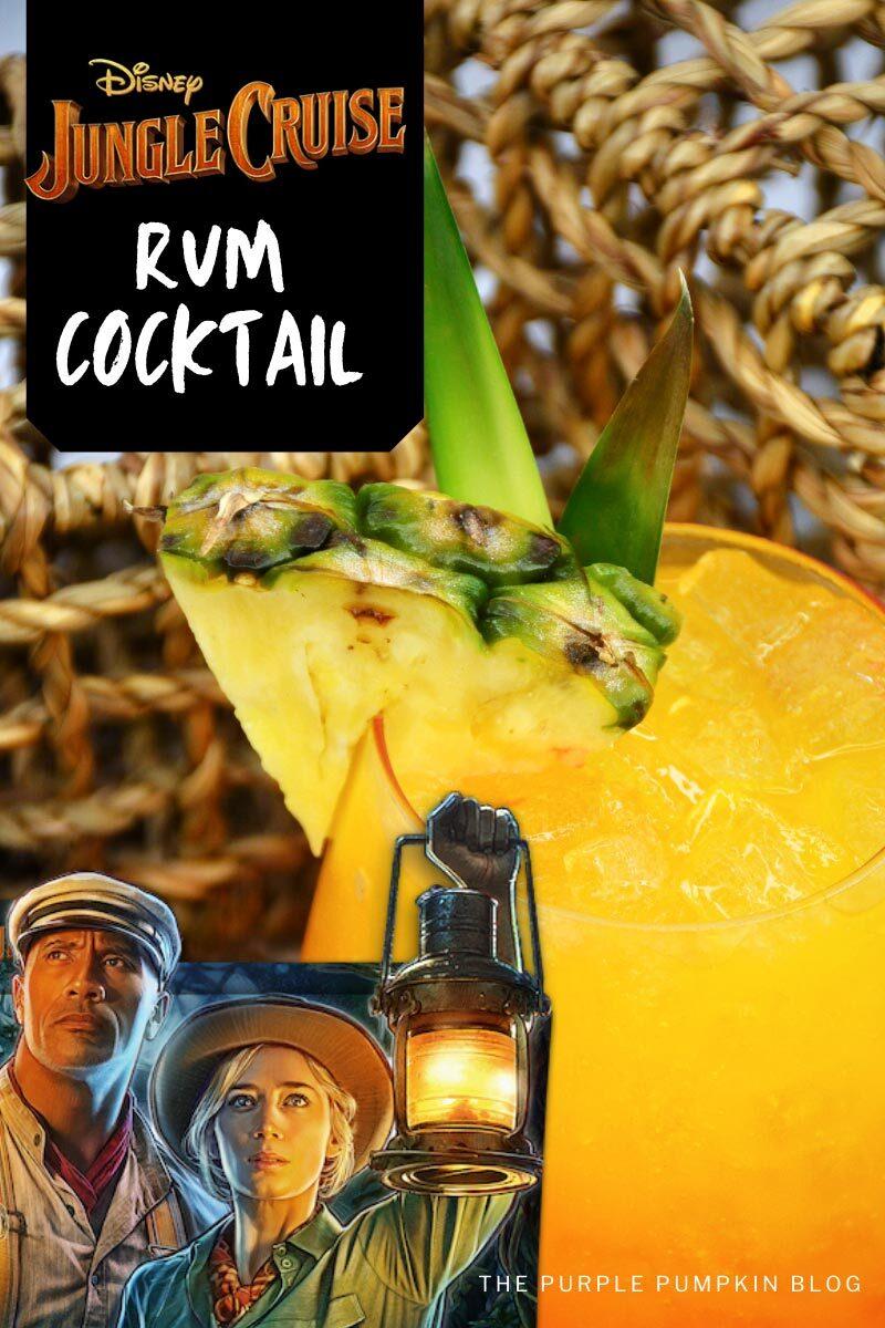 Disney Jungle Cruise Rum & Tequila Cocktail