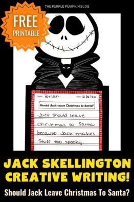 Jack Skellington Craftivity – Halloween Kids Craft