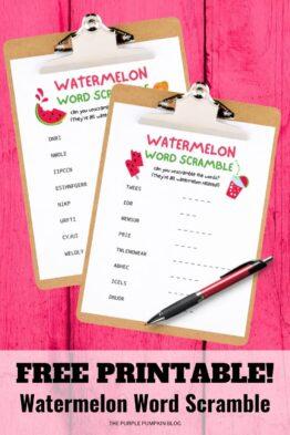 Free-Printable-Watermelon-Word-Scramble