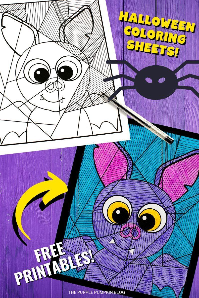 Halloween Coloring Sheets! Free Printables