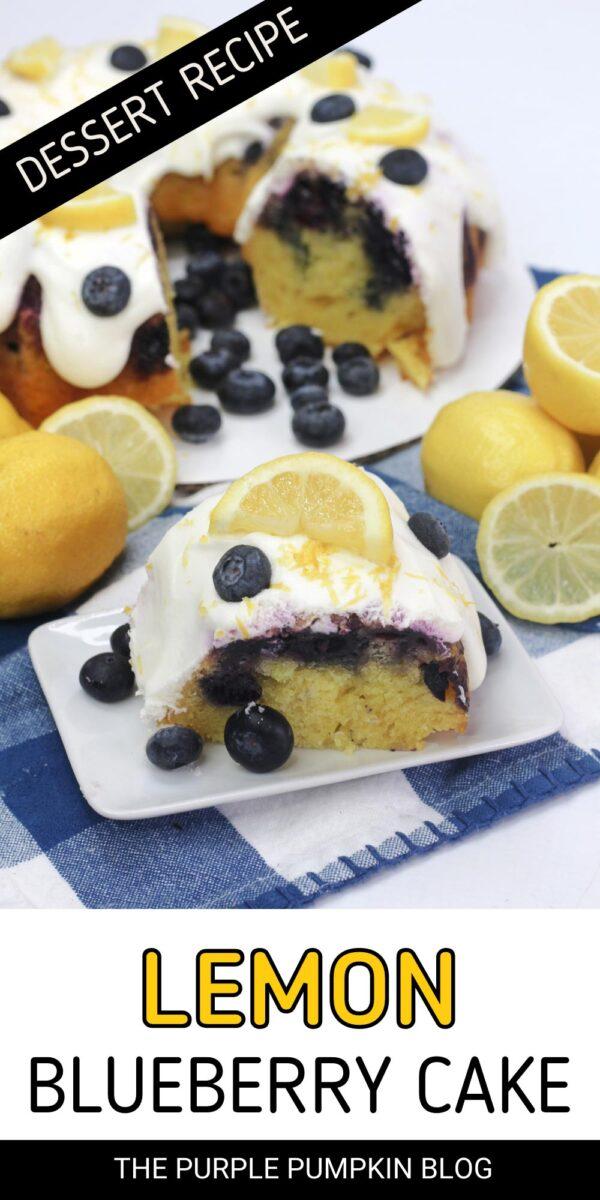 Lemon Blueberry Bundt Cake Dessert Recipe