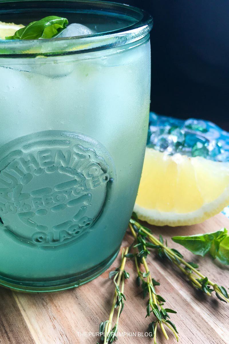 Lemon & Herb Vodka Spritzer