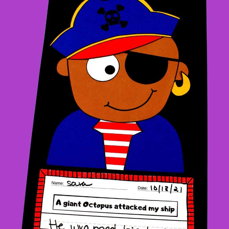 Printable Boy Pirate Craftivity