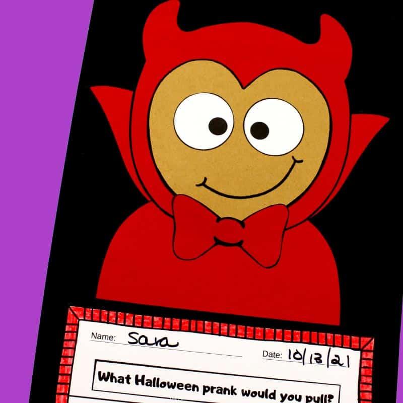 Printable Little Devil Craftivity