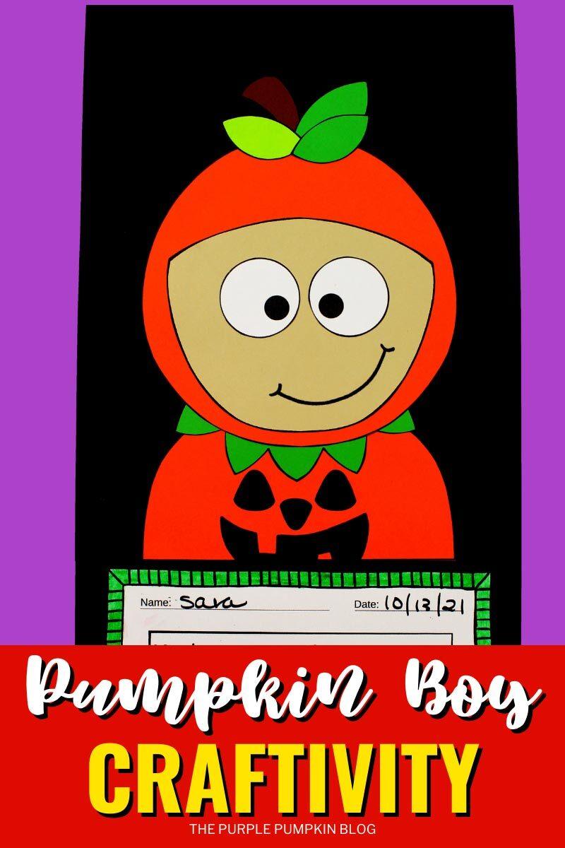 Pumpkin Boy Craftivity!