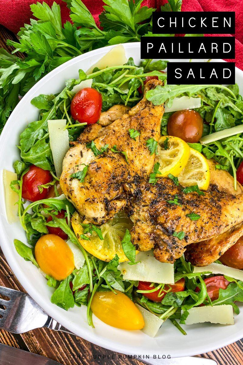 Recipe for Chicken Paillard Salad