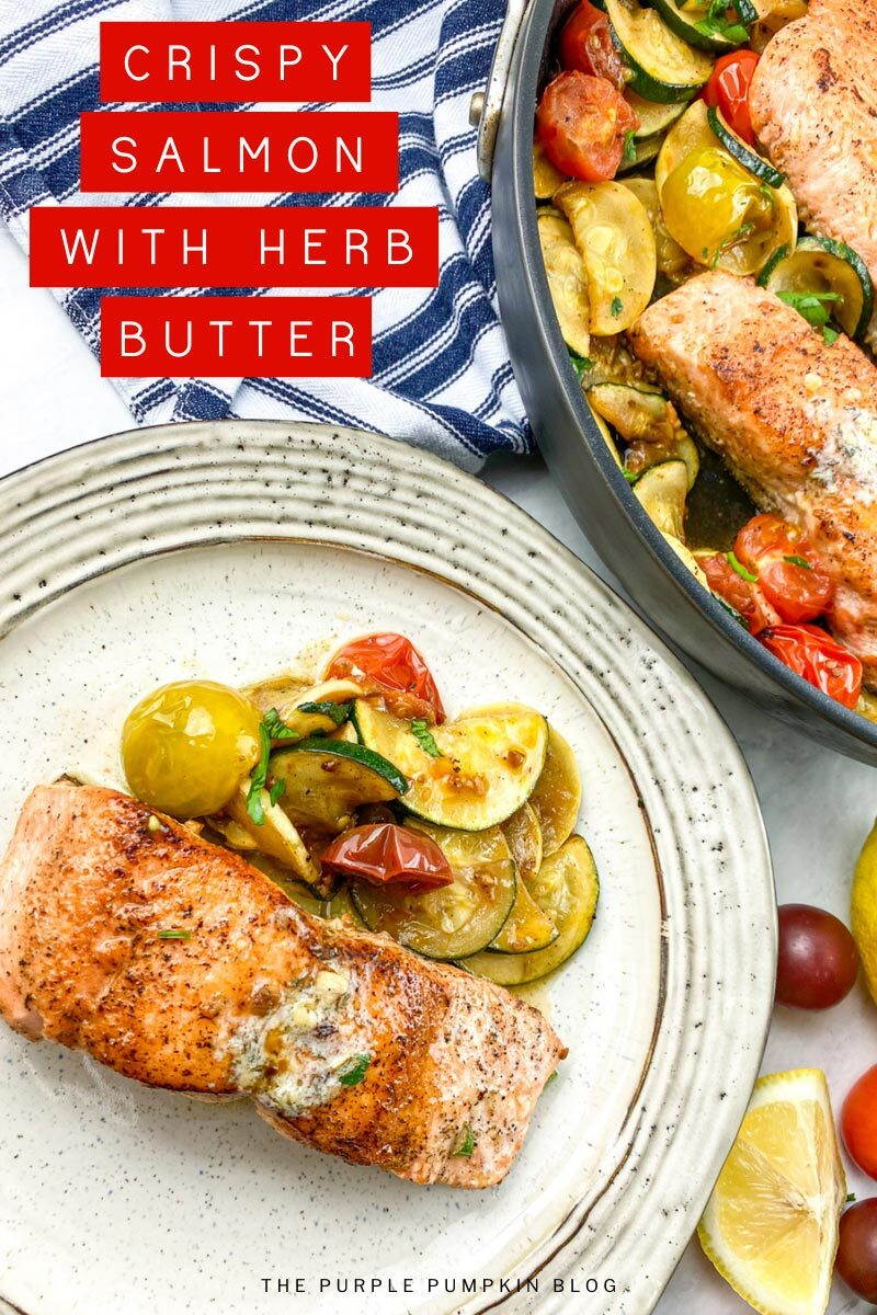 Salmon with Herb Butter Recipe