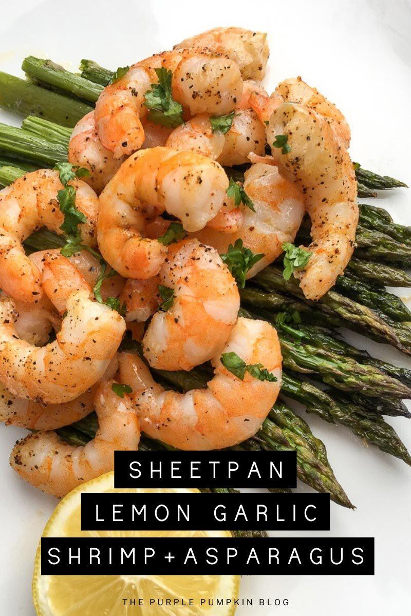 Sheet Pan Lemon-Garlic Shrimp & Asparagus