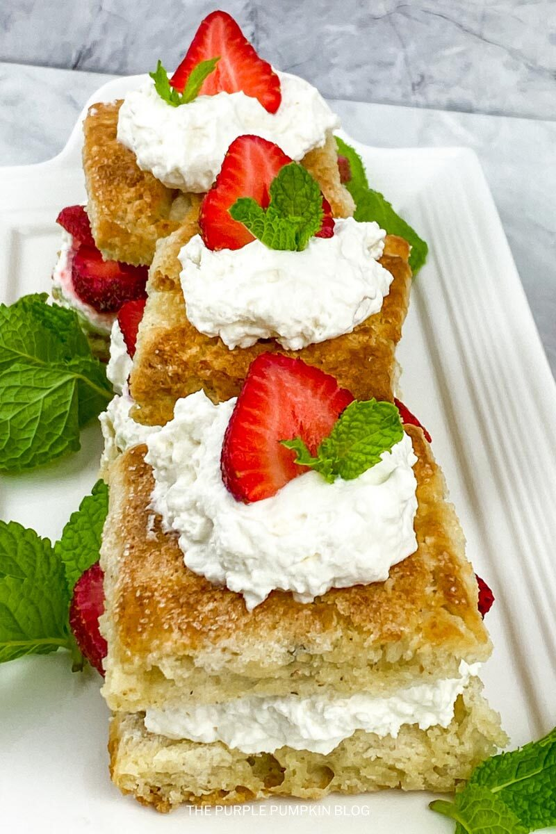 Strawberry Shortcake with Homemade Sweet Biscuits