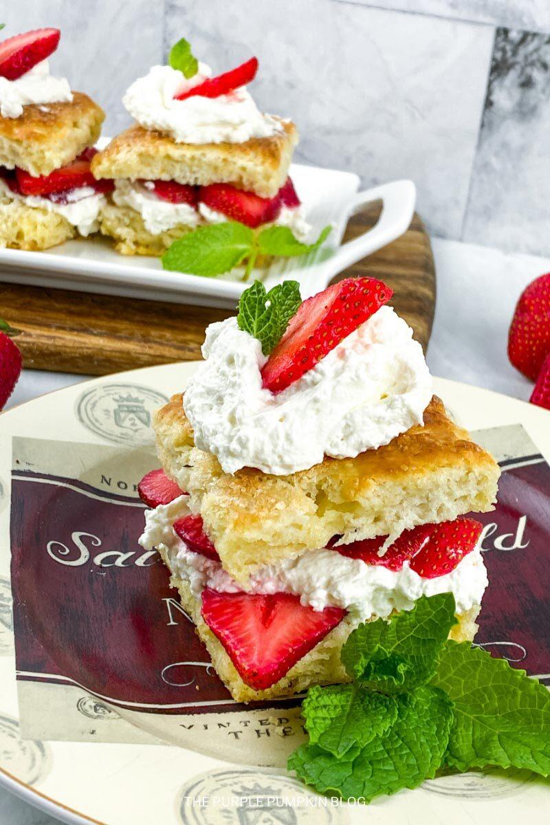 Summer Dessert Idea! Strawberry Shortcake