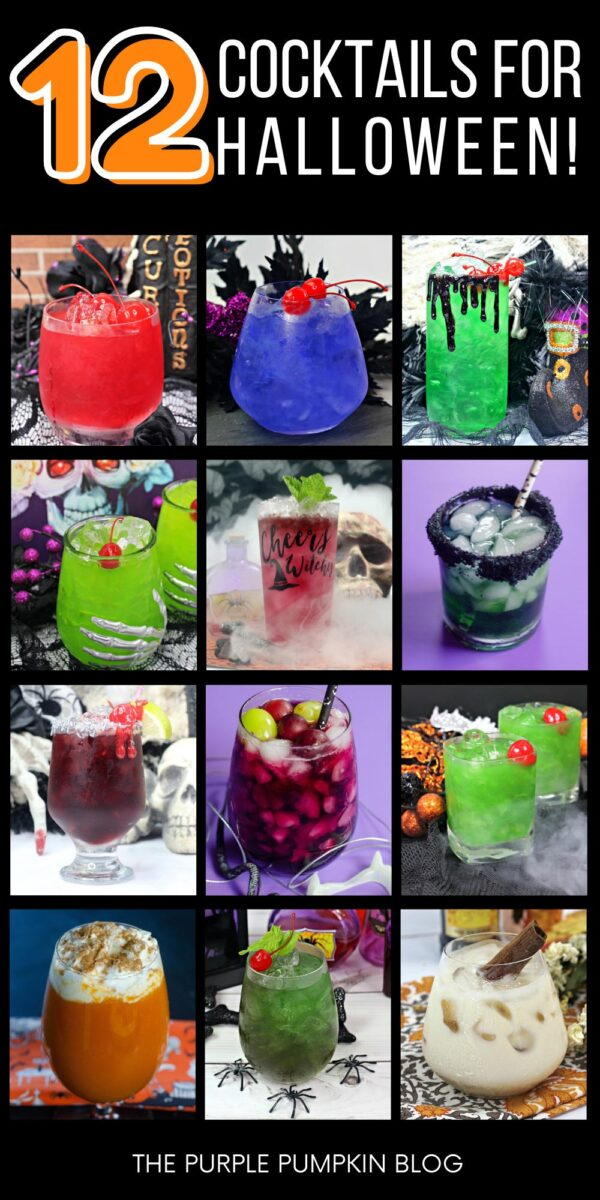 12 Cocktails for Halloween