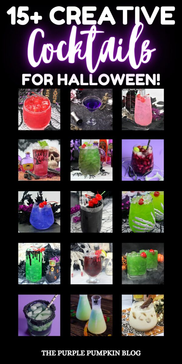 15 Creative Cocktails for Halloween