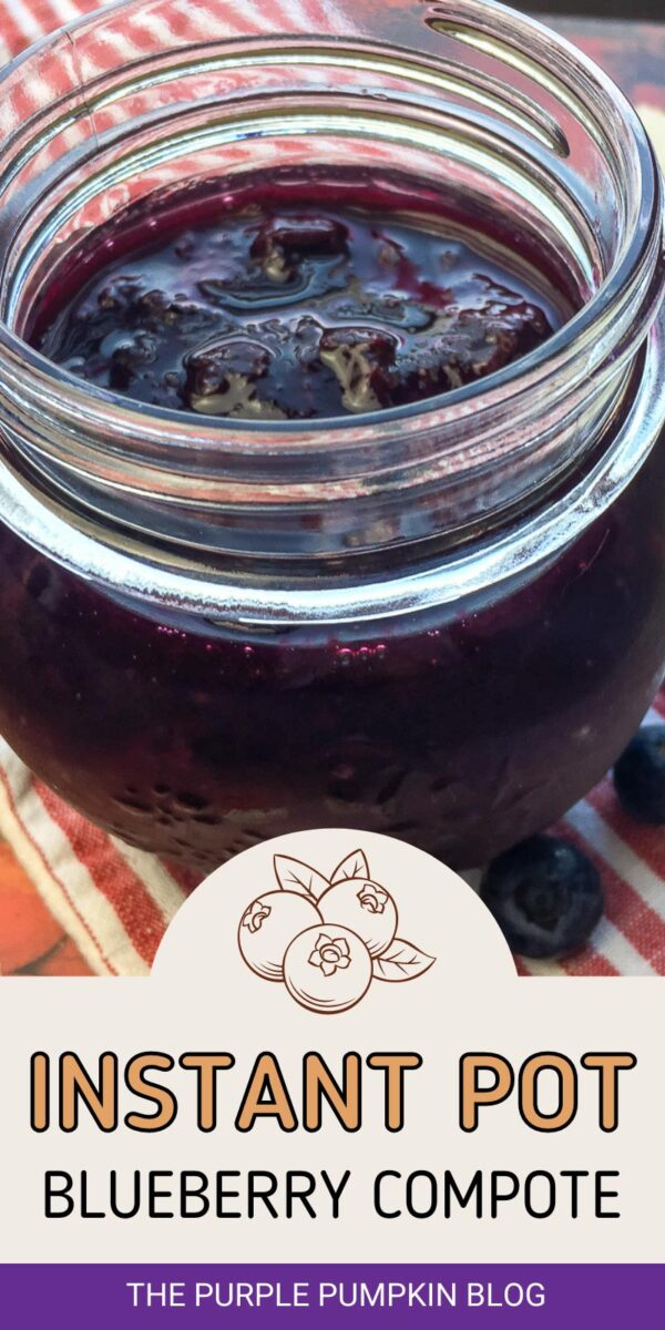 An Instant Pot Blueberry Compote Recipe
