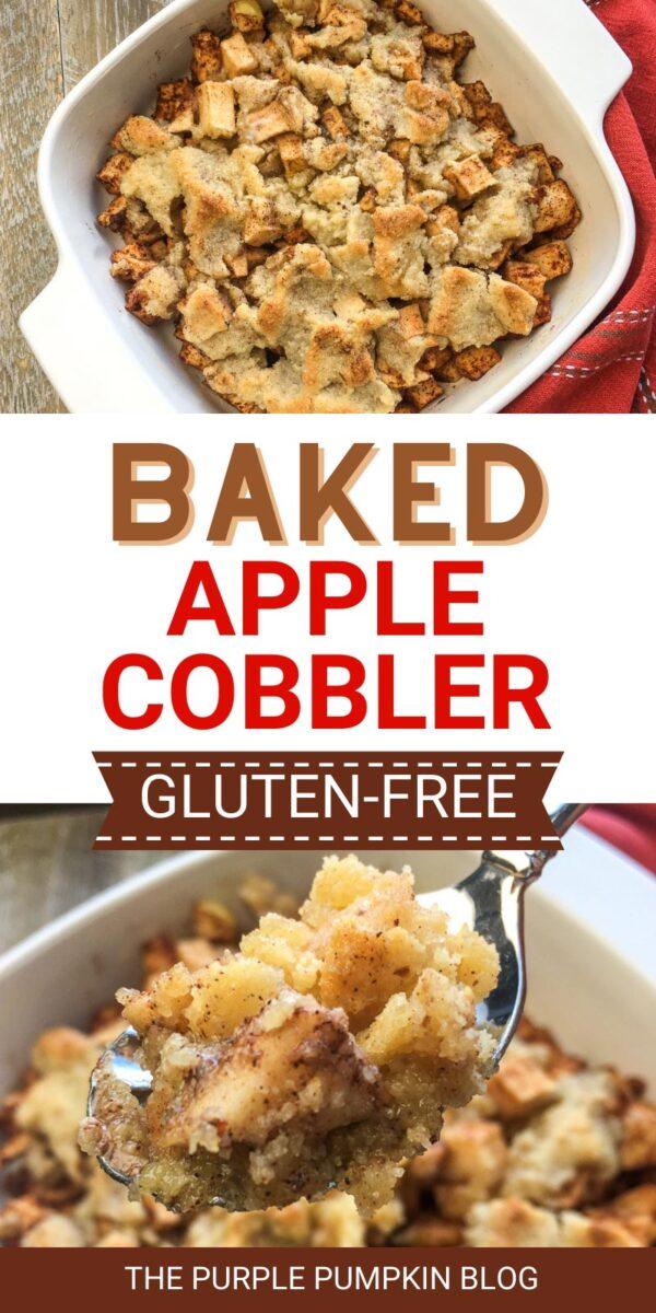 Baked Apple Cobbler - Gluten-Free