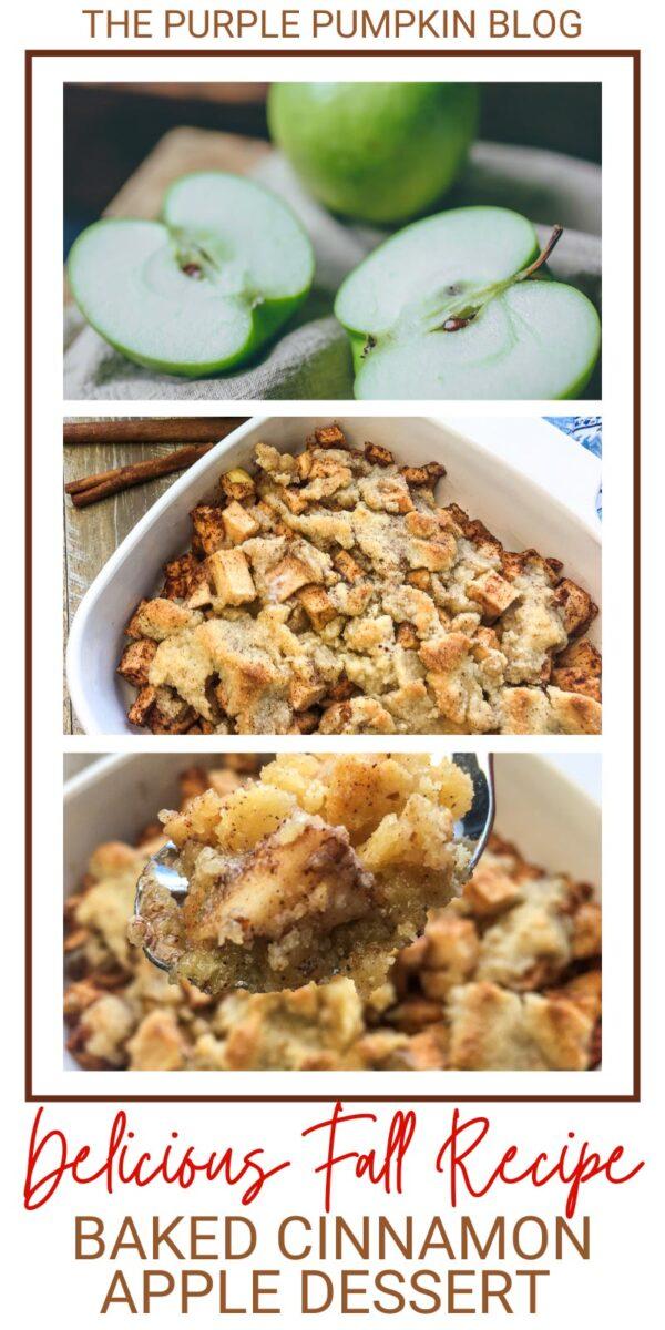 Baked Cinnamon Apple Dessert (Delicious Fall Recipe!)