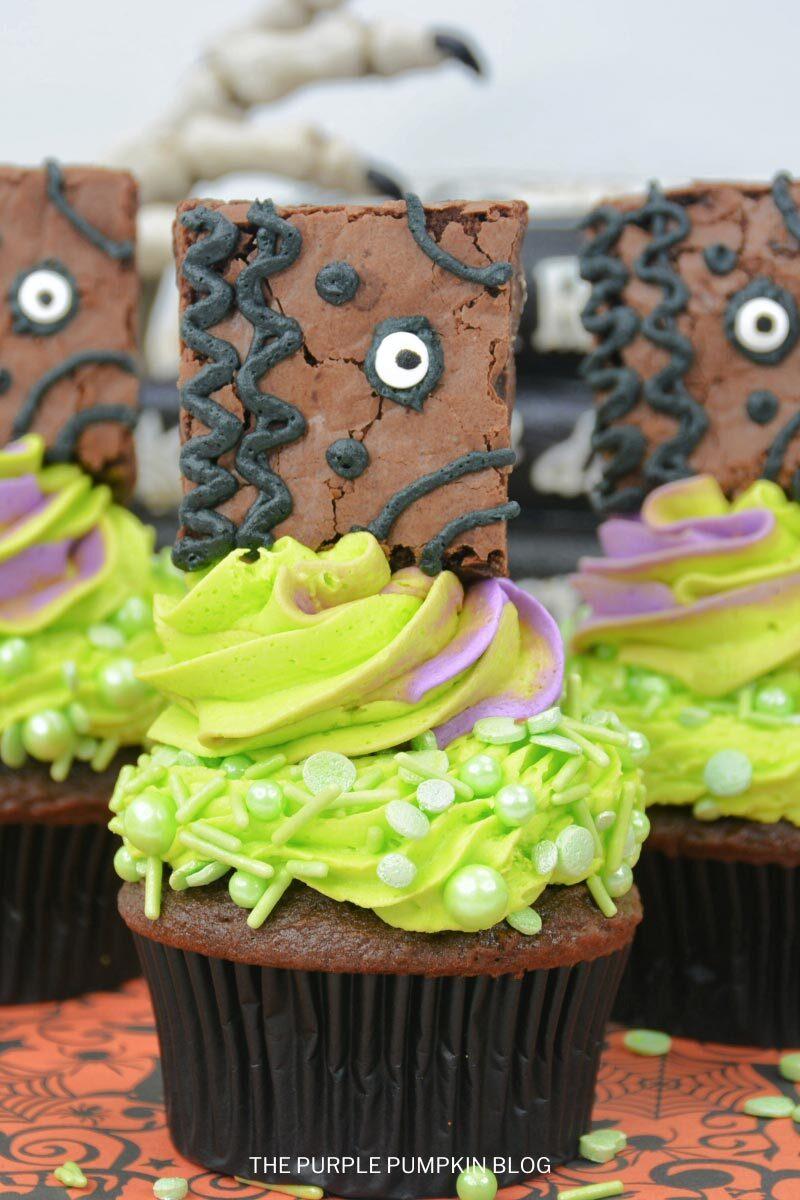 Book of Spells Cupcakes Recipe for Halloween
