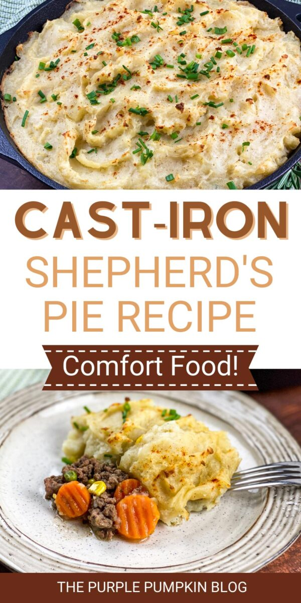 Cast-Iron Shepherd's Pie Recipe (Comfort Food!)