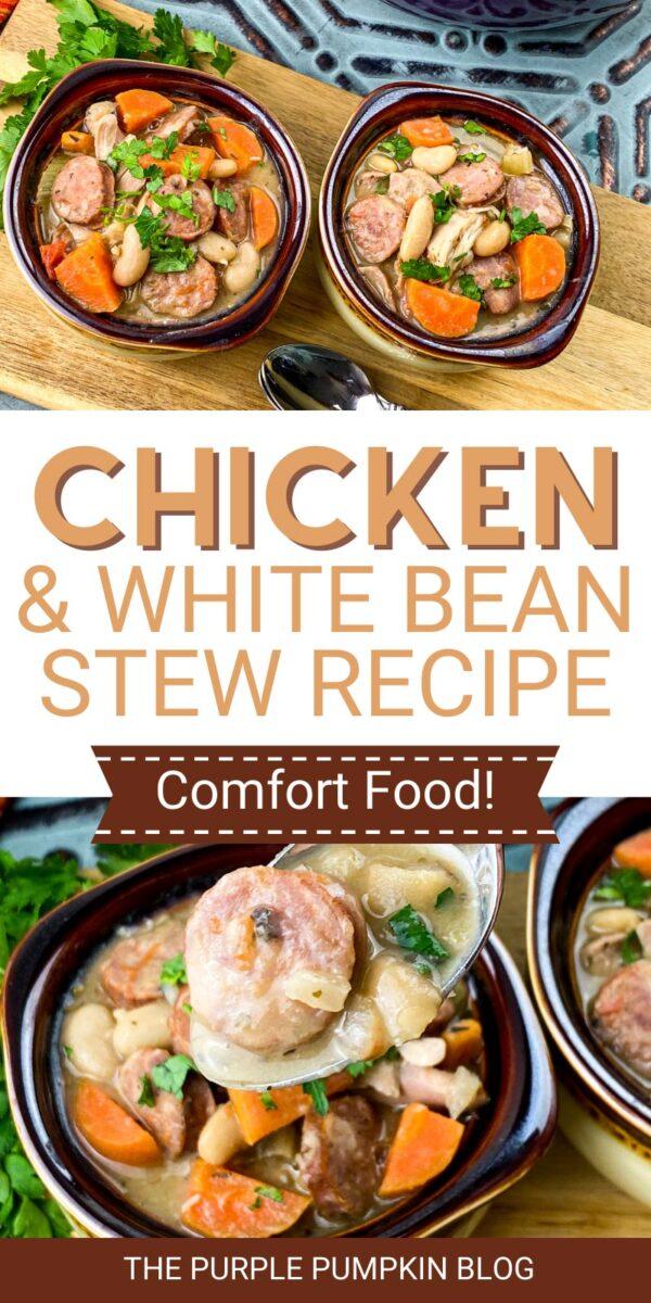 Chicken & White Bean Stew Recipe (Comfort Food!)