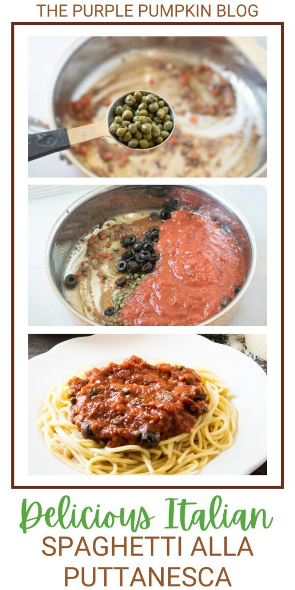 Delicious Italian Spaghetti Alla Puttanesca