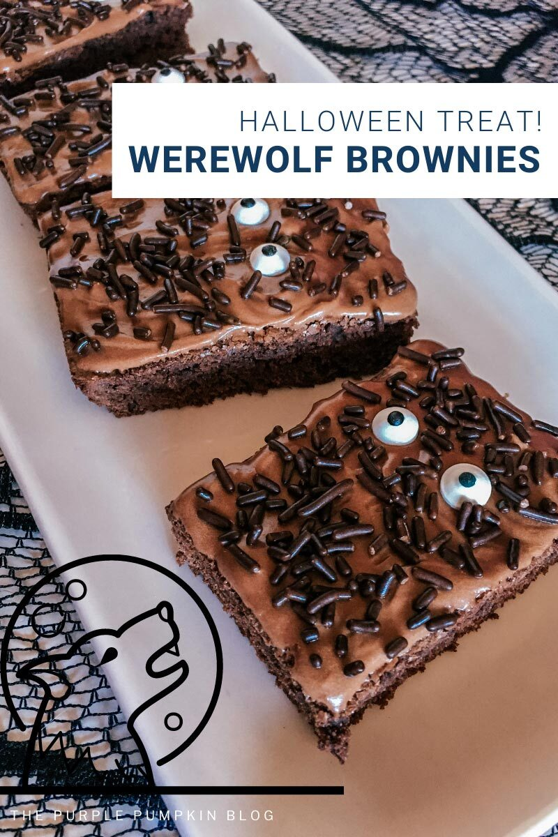 Halloween Treat! Werewolf Brownies