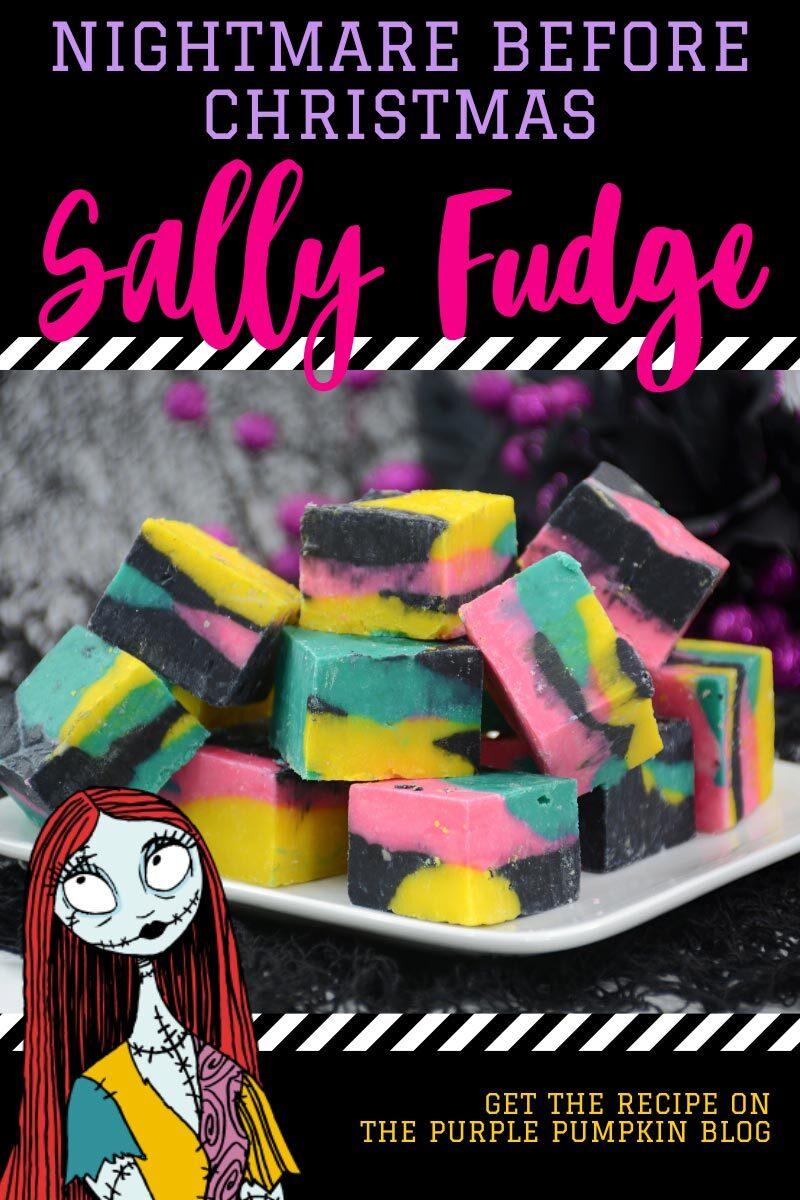 Nightmare Before Christmas Sally Fudge