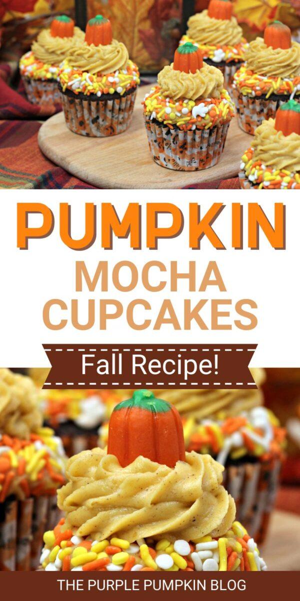 Pumpkin Mocha Cupcakes Fall Recipe!