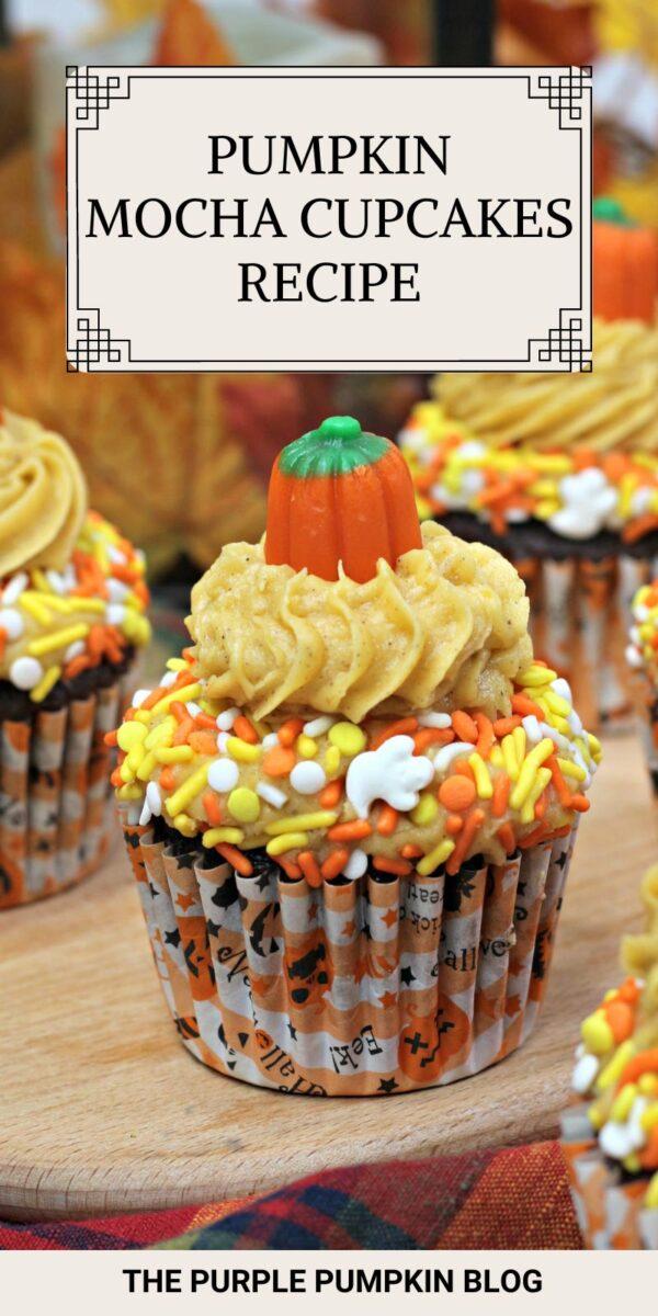 Recipe for Pumpkin Mocha Cupcakes