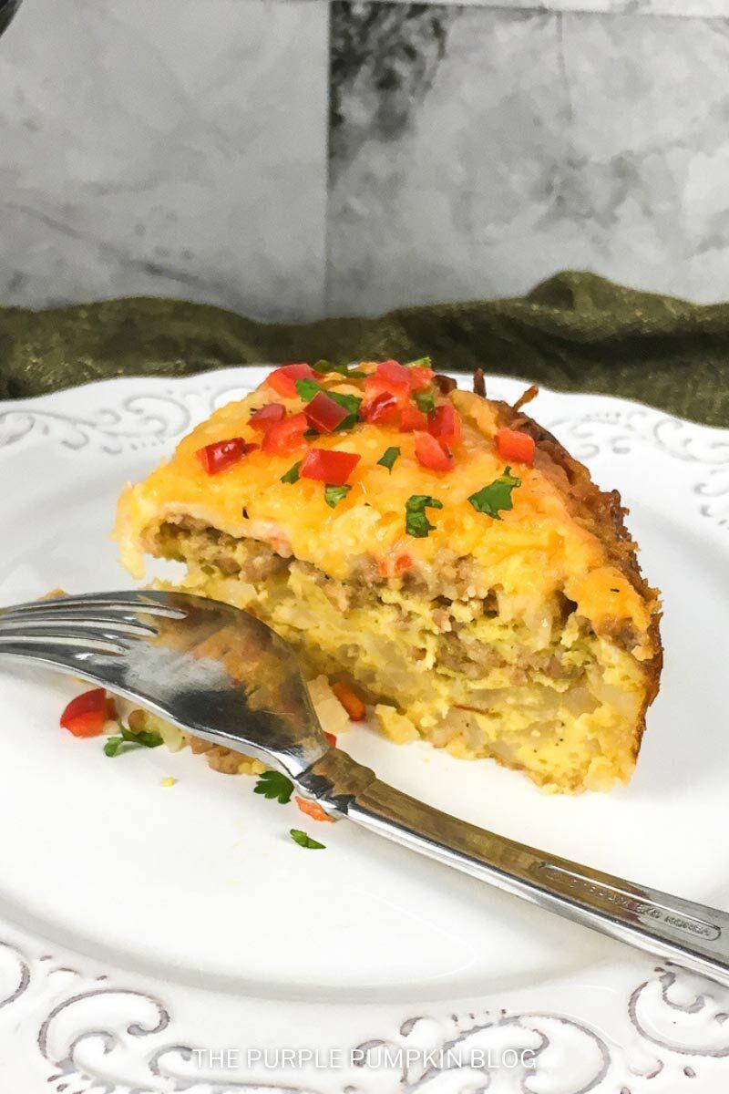 Recipe for Slow Cooker Breakfast Casserole