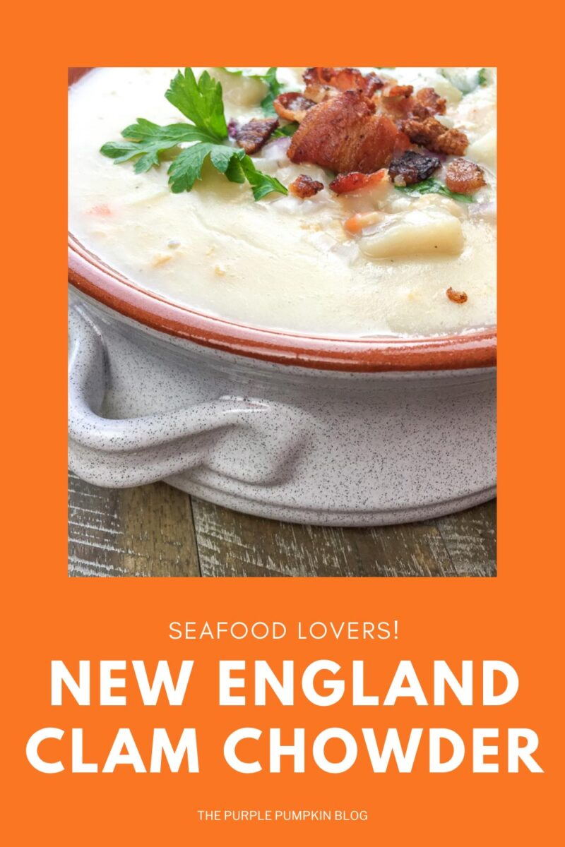Seafood Lovers! New England Clam Chowder