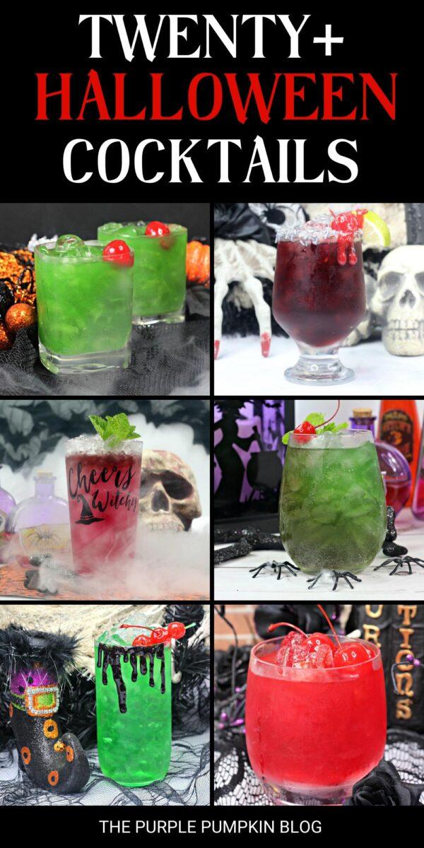 Twenty Halloween Cocktails