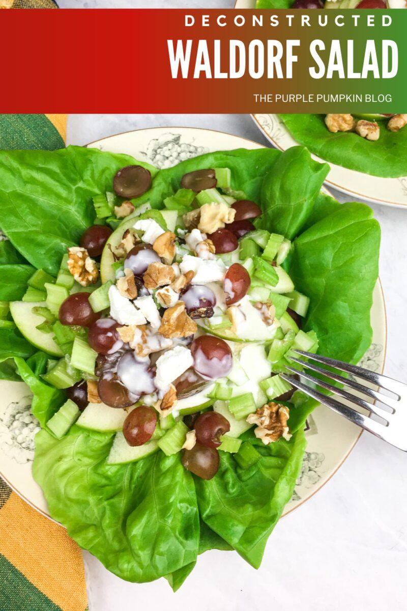 Waldorf Salad with Apples & Walnuts